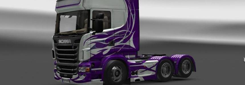 Scania Flame Lilla 1.17x