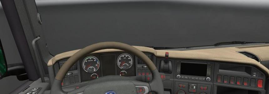 Scania R Dashbord Light 1.16 and 1.17