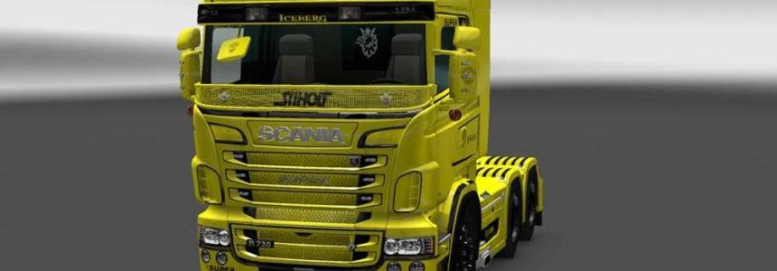 Scania RJL Iceberg Transport Skin