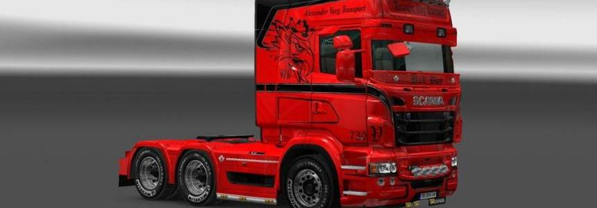 Scania RJL Varg Transport Skin