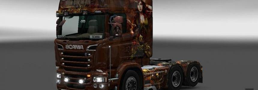 Scania R&S Steampunk v1