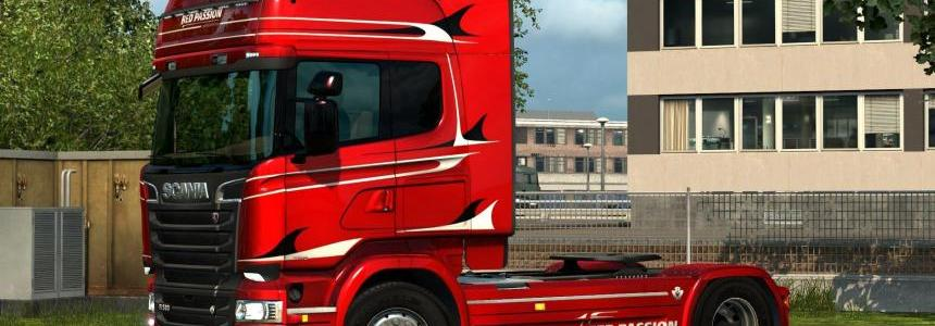Scania Streamilne Red Passion Limited Edition