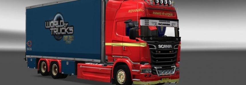 Scania Streamline Fleurs vd Eijkel Skin