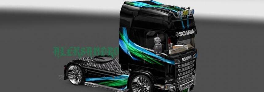 Scania Streamline Lines Skin v2.0