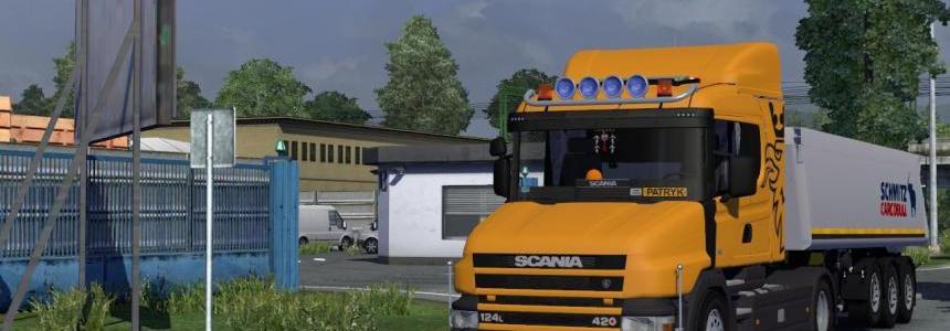 Scania T124 420 + Interior