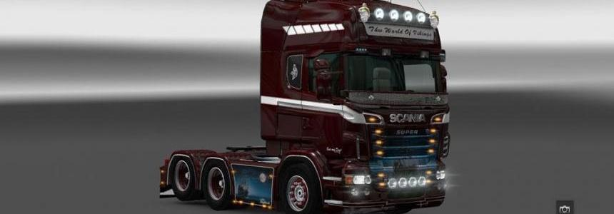Scania the World of Vikins Skin
