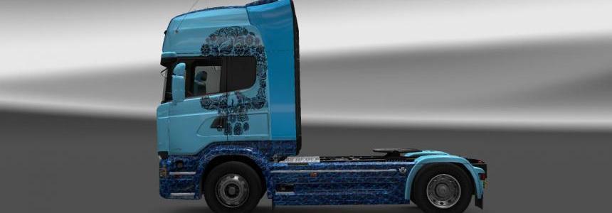 Scania Streamline Skull by deathorange 1.18