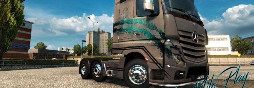 Skin MYSTIC FARBES Mercedes Actros MPIV 1.18