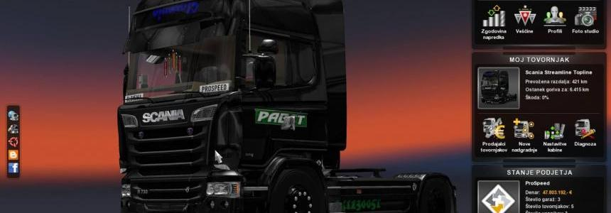 Skin Scania Pabst