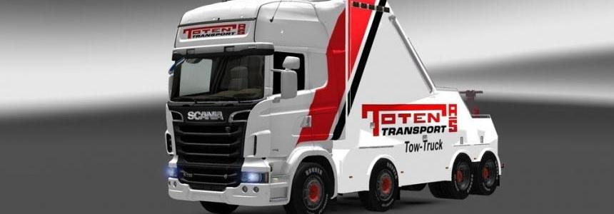 Toten Transport Recovery Truck