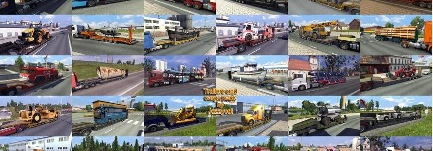 Trailers and Cargo Pack by Jazzycat  v3.2.1