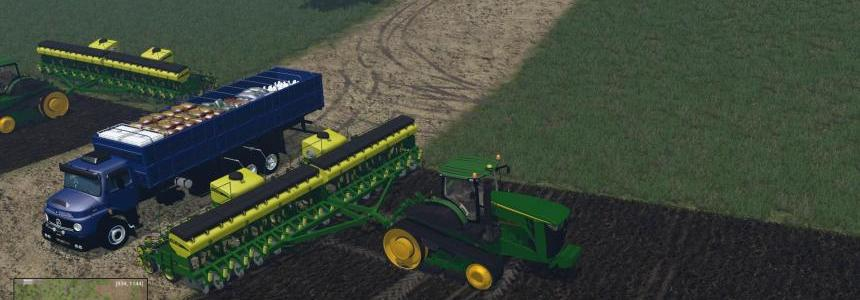 Truck Mercedes Benz 1513 For Planter and Sprayers Supply v1.0