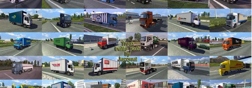 Truck Traffic Pack by Jazzycat  v1.8.1