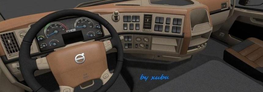 Volvo FH 16 2009 Classic [Brown-Beige] Interior