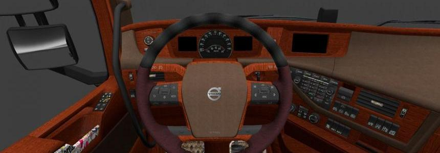 Volvo FH bomb interior by deathorange 1.17