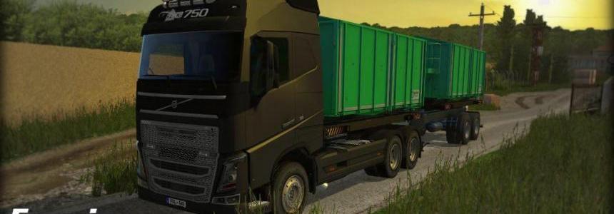Volvo FH16 750 Frame v1.2