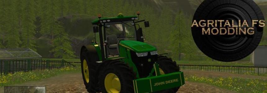 Weight John Deere 1900KG v1.1