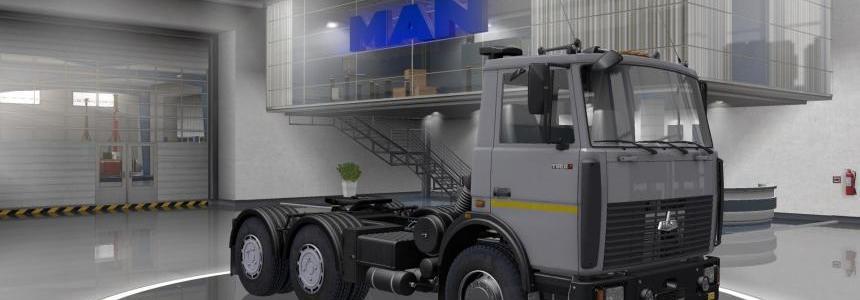 MAZ 6422 + Interior v1.0