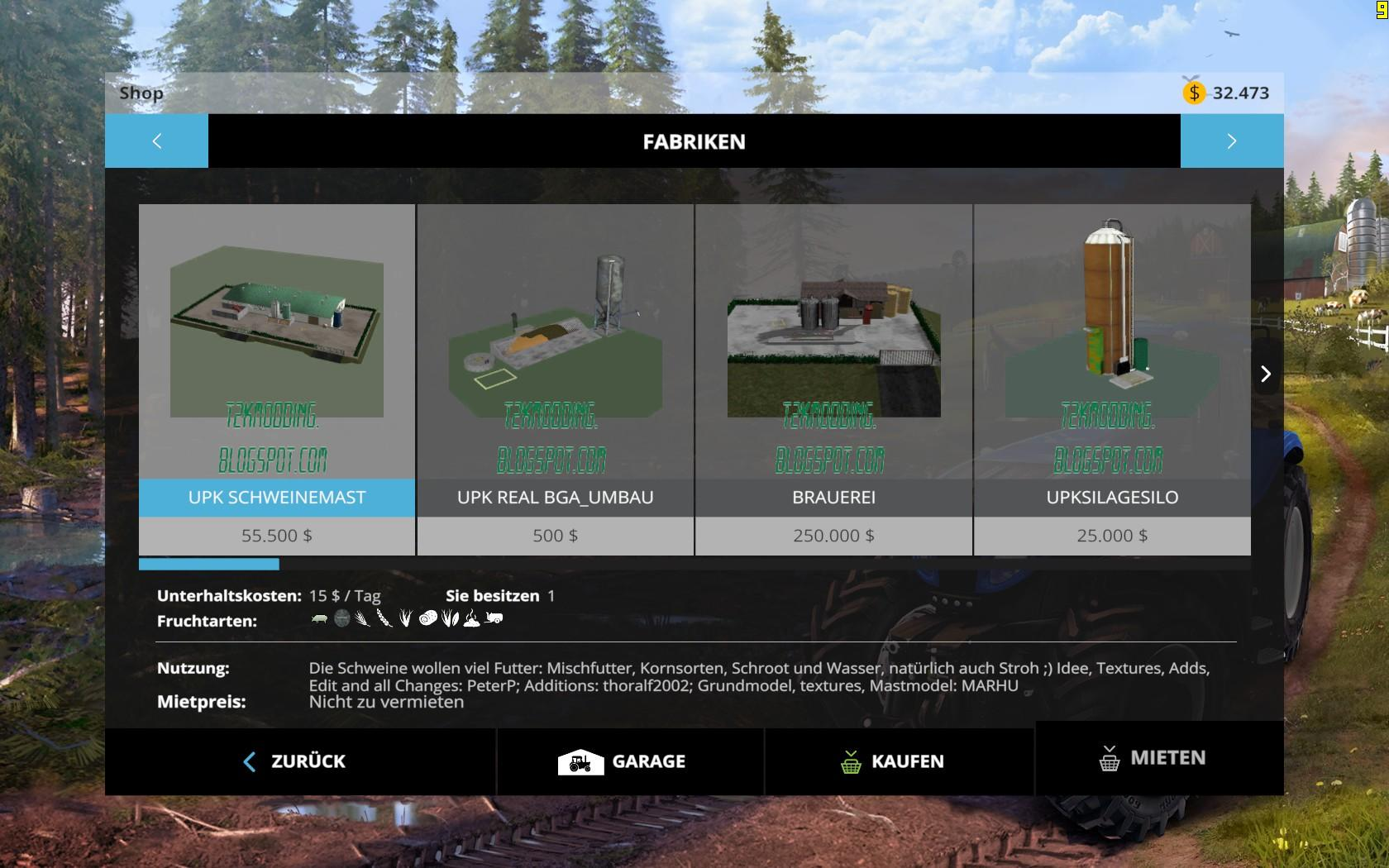 how to give cows water in farming simulator 2015