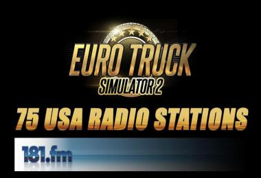 75 USA Radio Stations