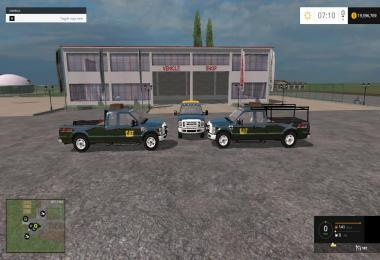 F350 Work Truck Pack Caterpillar Version v1.0