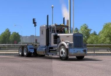 Kenworth W900A Detroit Diesel 6V92 engine sound