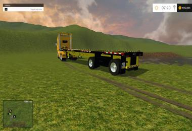 Manic US Flatbed Trailer Cat Edition v1.0