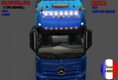 Roofgrill and lightbox Mercedes MPIV V2 1.18