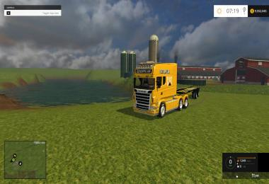 Scania Longline Cat Edition v1.0