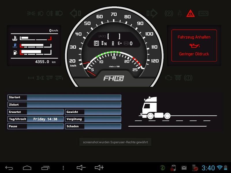 Ets2 mobile dashboard