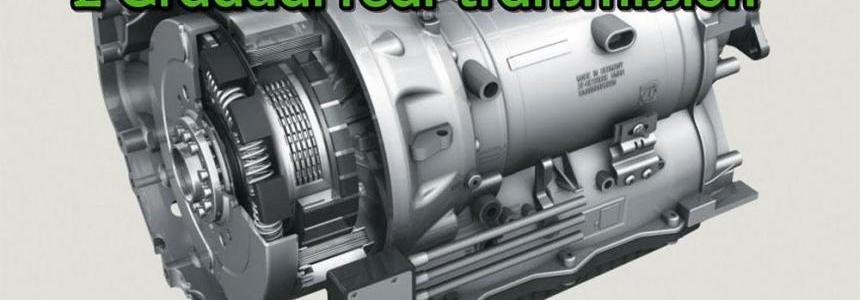 2 Gradual rear transmission