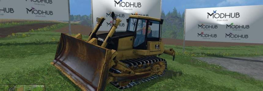 Bulldozer D9 Caterpillar v1.0