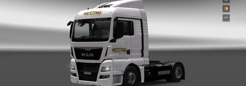 MAN TGX XLX Euro 6 Hessing skin