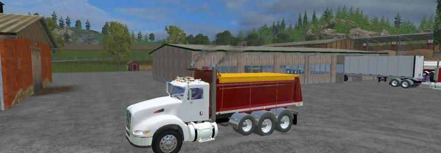 384 peterbilt Dump Truck  V4