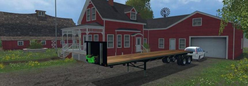 US Flatbed Trailers v1.0