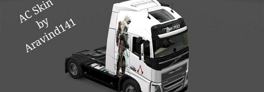 AC skin for volvo fh16 2012