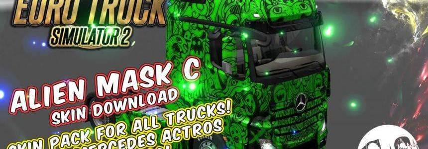 Alien Mask C Skin Pack for All Trucks