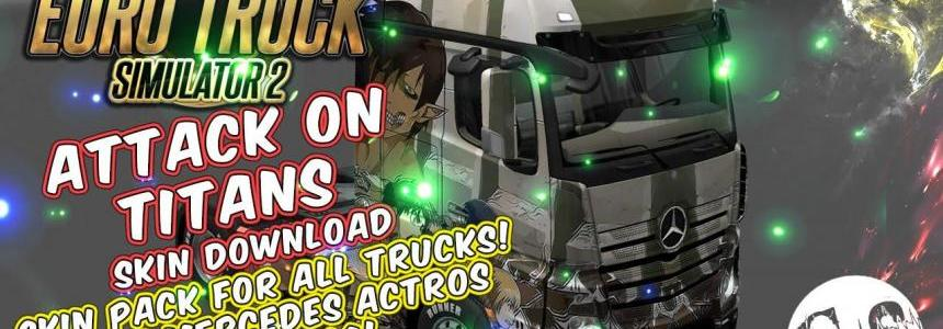Attack on Titans Skin Pack for All Trucks
