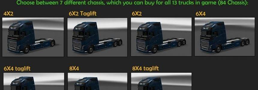 BDF Tandem Truck Pack v36.0
