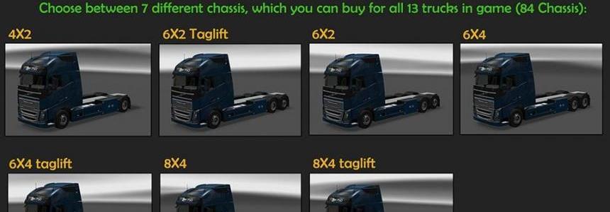 BDF Tandem Truck Pack v37.0