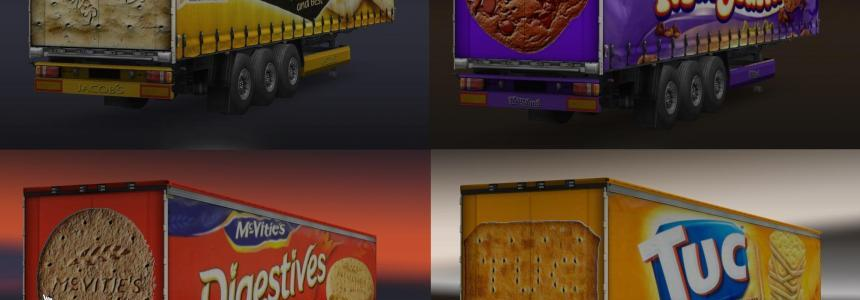 Biscuit Trailers Pack