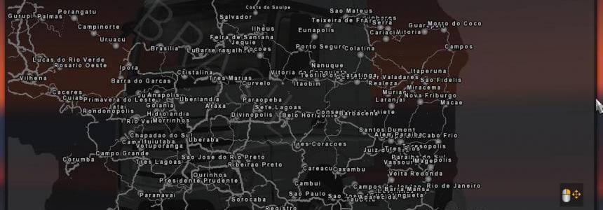 Brazil Map v3.1