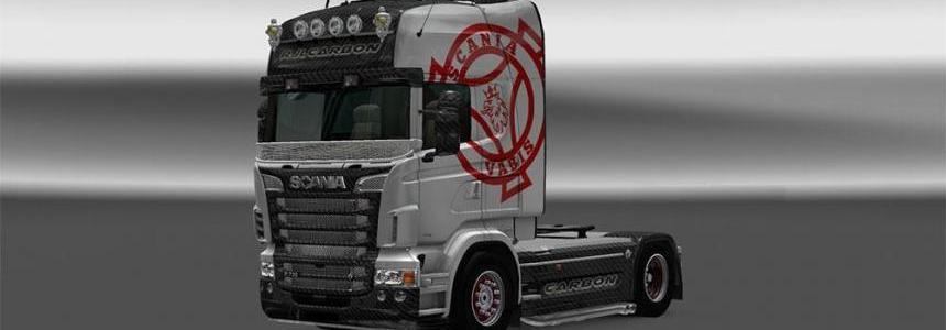 Carbon RJL Scania skin