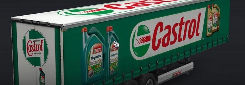 Castrol Motor Oil Trailers