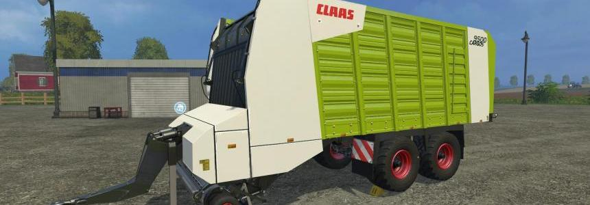 Claas Cargos 9500 4wheels chassis v1.0