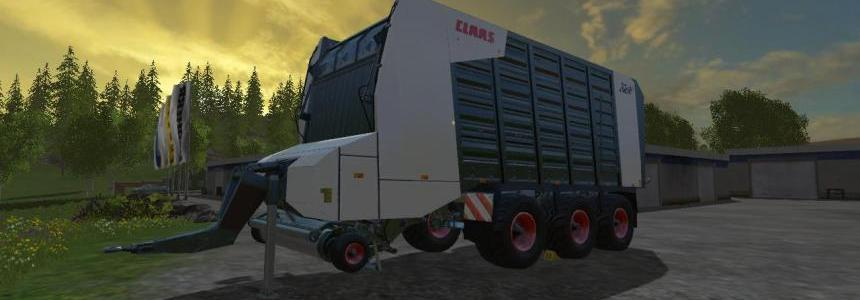 Claas cargos 9500 black v1