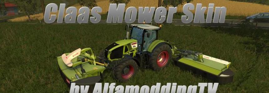 Claas mower Skin v0.9
