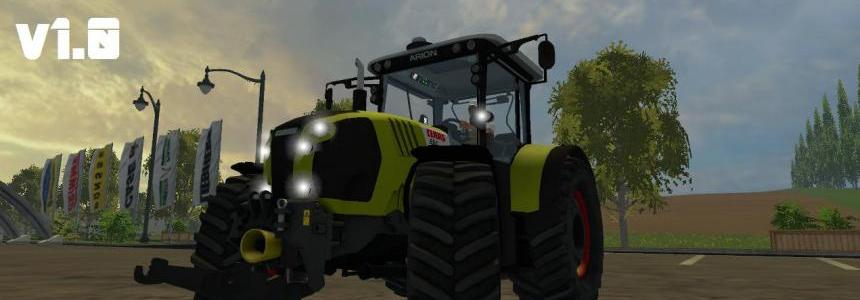 Class Arion 650 Tractor v1.0
