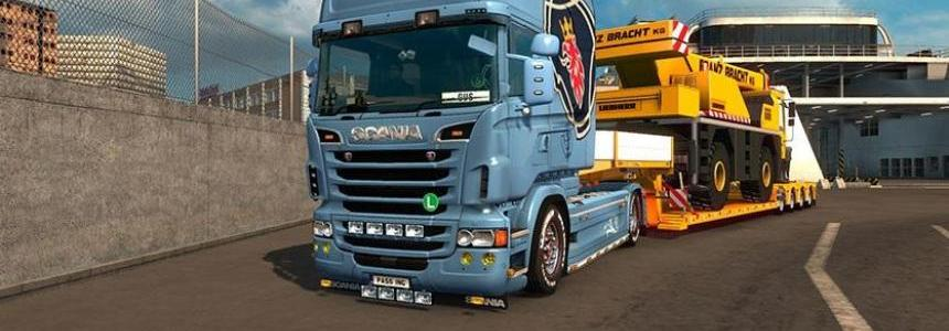 Custom Scania Vabis V8 Skin for RJL