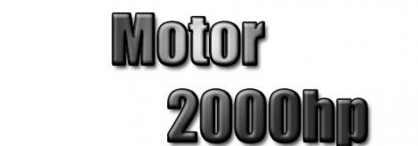 DAF €6 Motor 2000 hp/cv